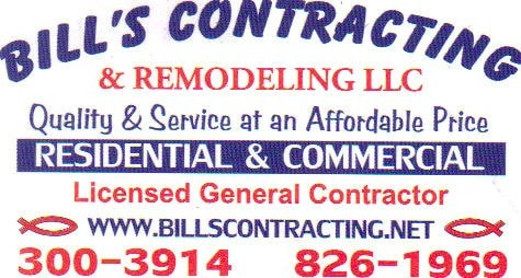 Bill's Contracting & Remodeling