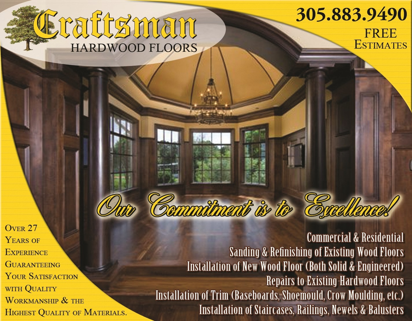 Craftsman Hardwood Floors