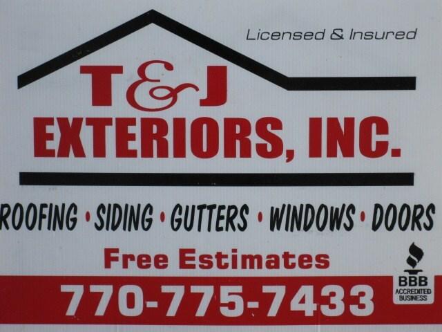 T&J Exteriors Inc.