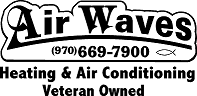 AIRWAVES HEATING & AIR CONDITIONING logo
