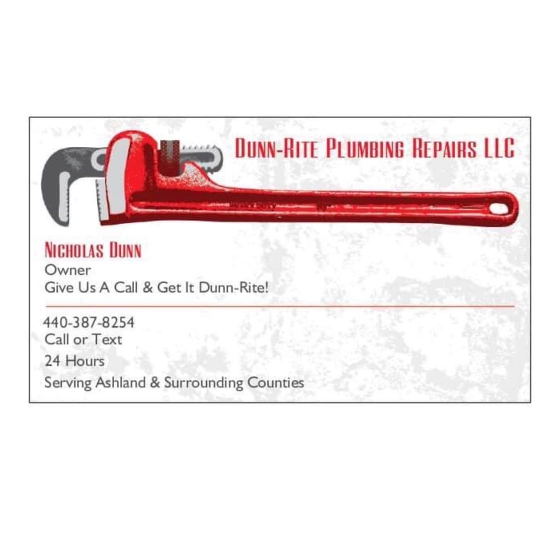Dunn-Rite Plumbing Repairs LLC