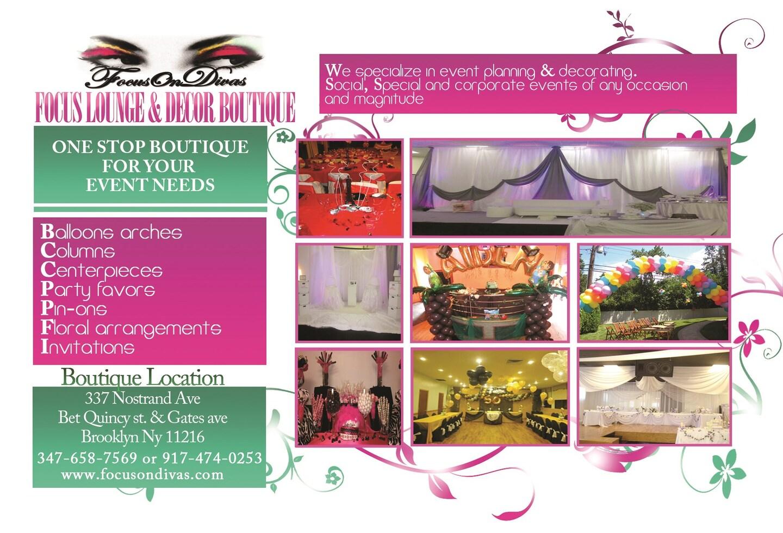 FocusOnDivas Event Planners