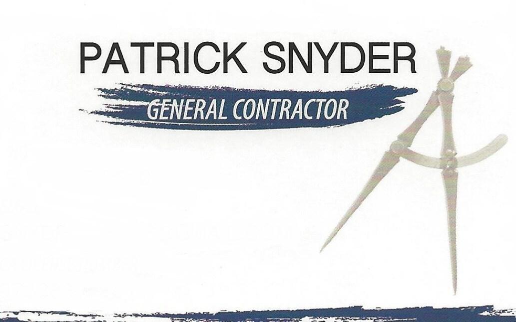 Patrick Snyder General Contractor