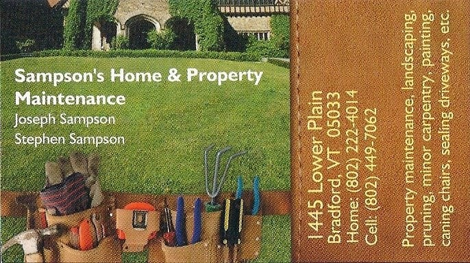 Sampson's Home nnd Property Maintenance