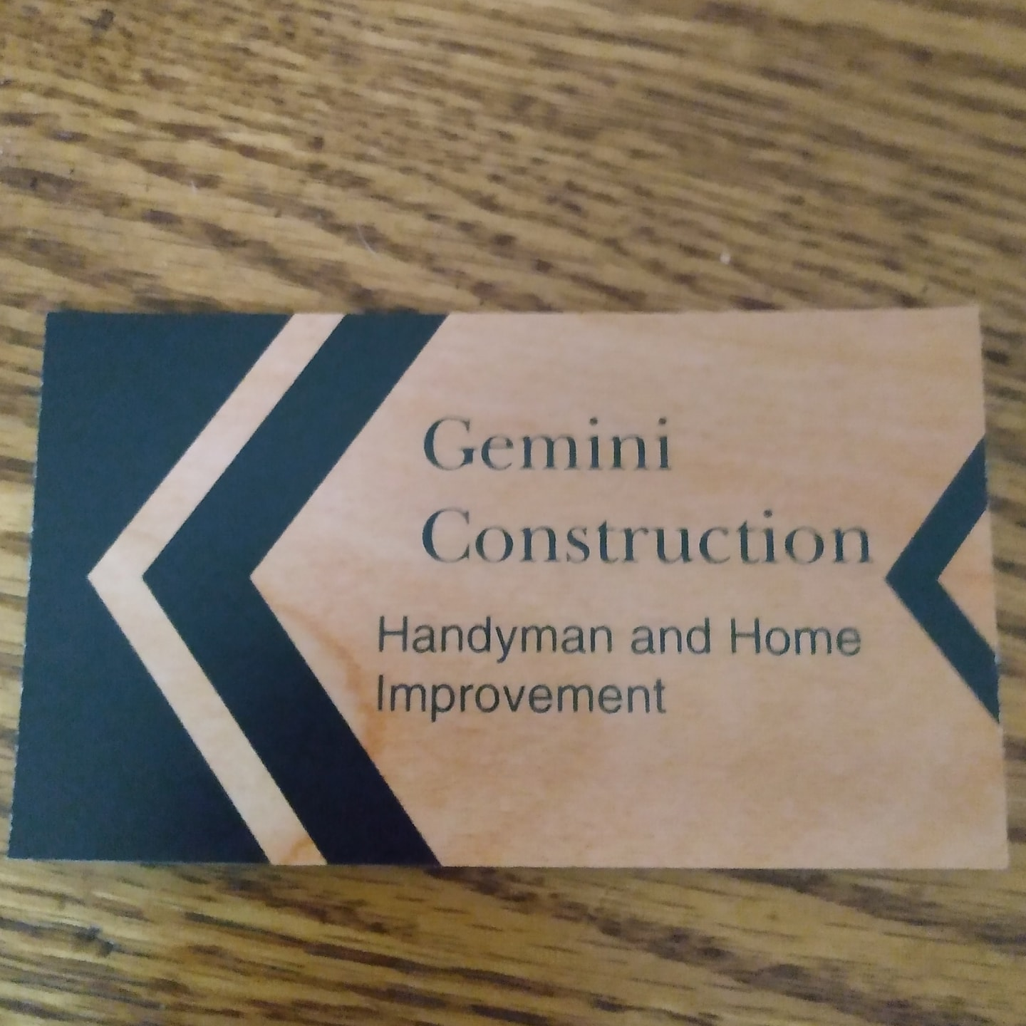 Gemini construction and handyman services