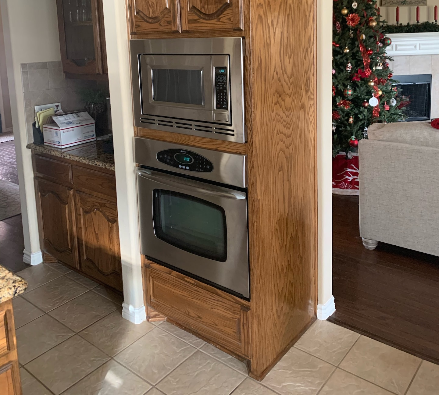 Double oven replacement