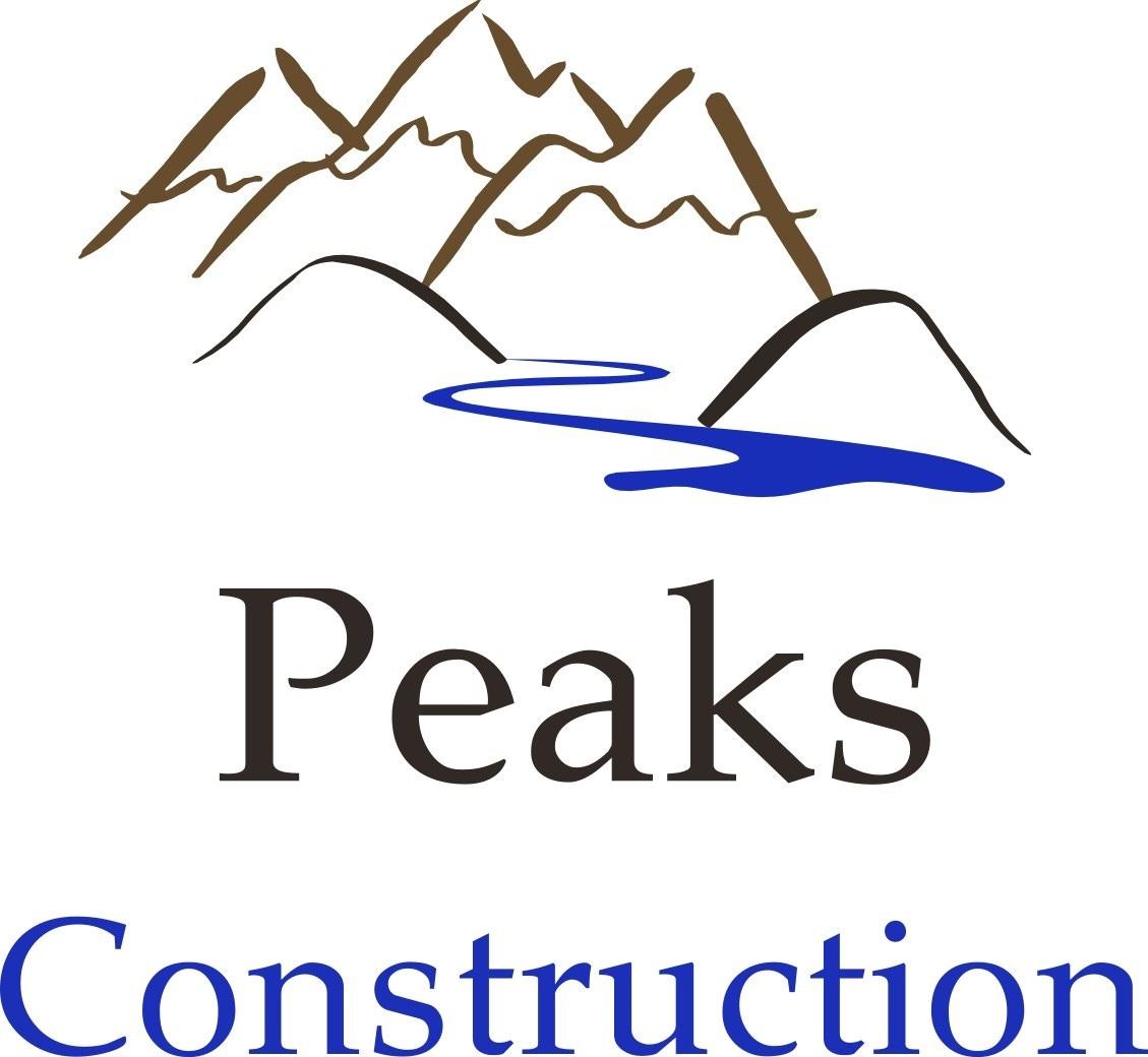 Peaks Construction logo