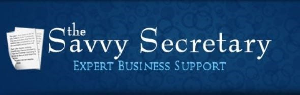 The Savvy Secretary logo