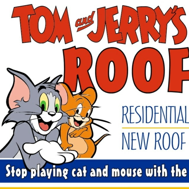 Tom And Jerry's Roofing logo