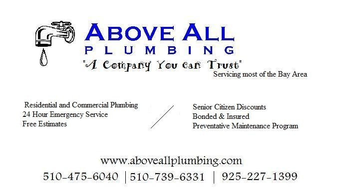 ABOVE ALL PLUMBING