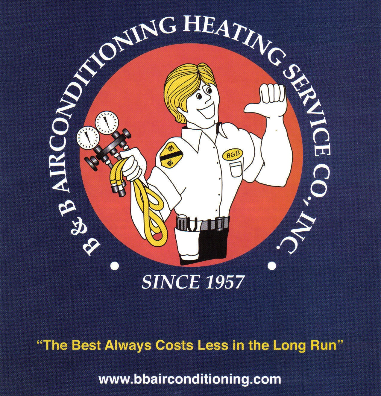 B&B AIR CONDITIONING AND HEATING SERVICE COMPANY
