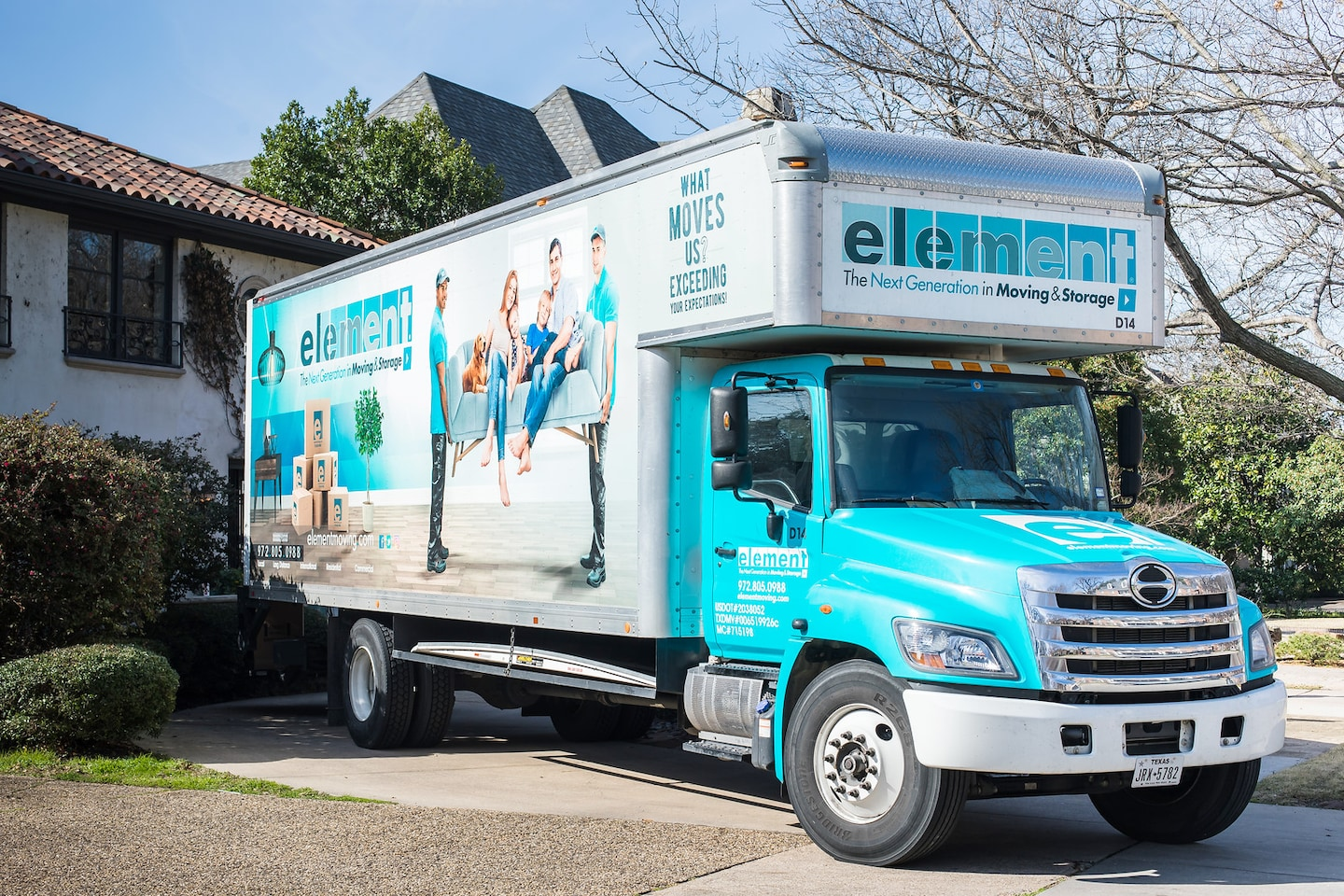 Element Moving & Storage