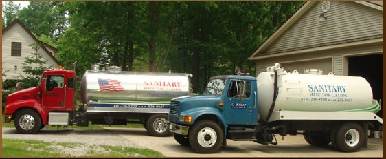 SANITARY SEPTIC TANK CLEANING