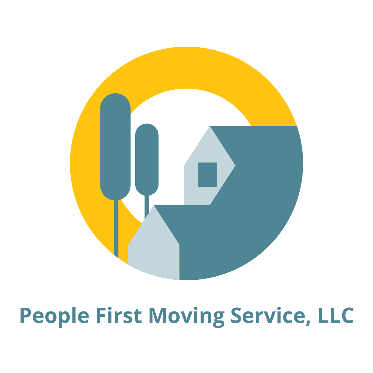 People First Moving Service logo