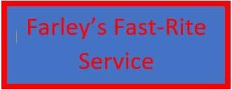 Farley's Fast-Rite Service