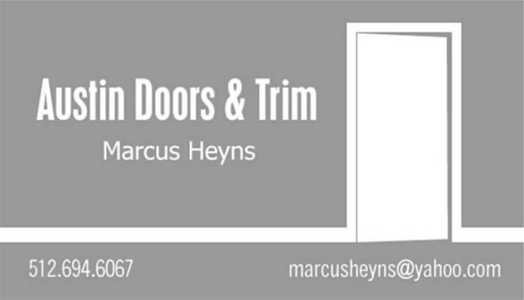 Austin Doors and Trim