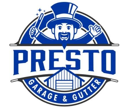 Presto Garage & Gutter logo