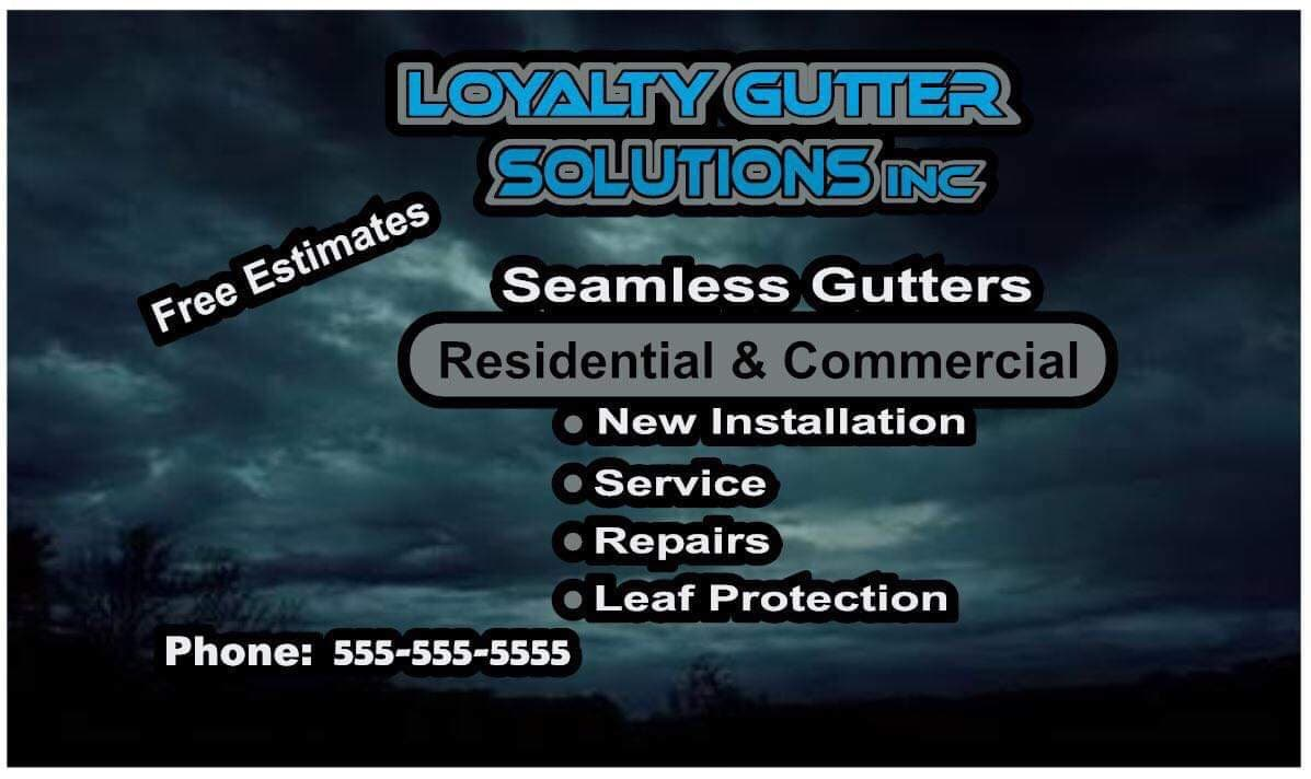 Loyalty Gutter Solutions Inc.