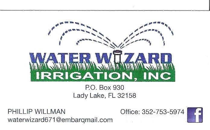 WATER WIZARD IRRIGATION INC