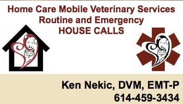 Home Care Mobile Veterinary Service