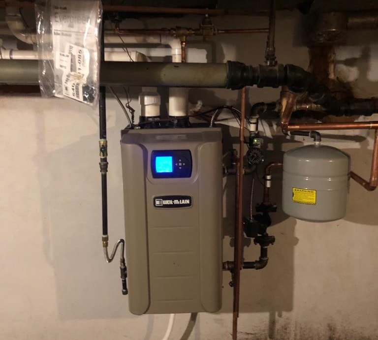 New WeilMclain EverGreen High Efficiency Boiler