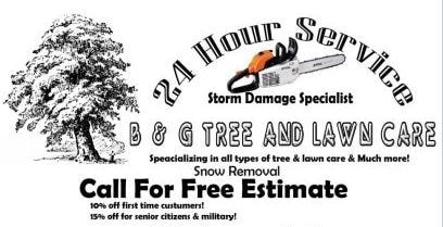 B & G Tree and Lawn Care