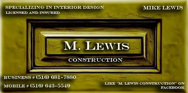 M Lewis Construction