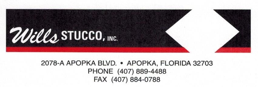 Wills Stucco, Inc