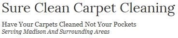 Sure Clean Carpet Cleaning & Water Damage Restore