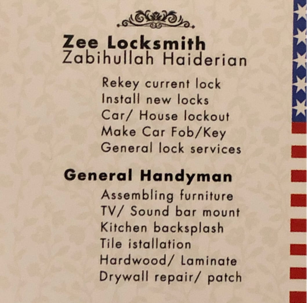 Zee Locksmith