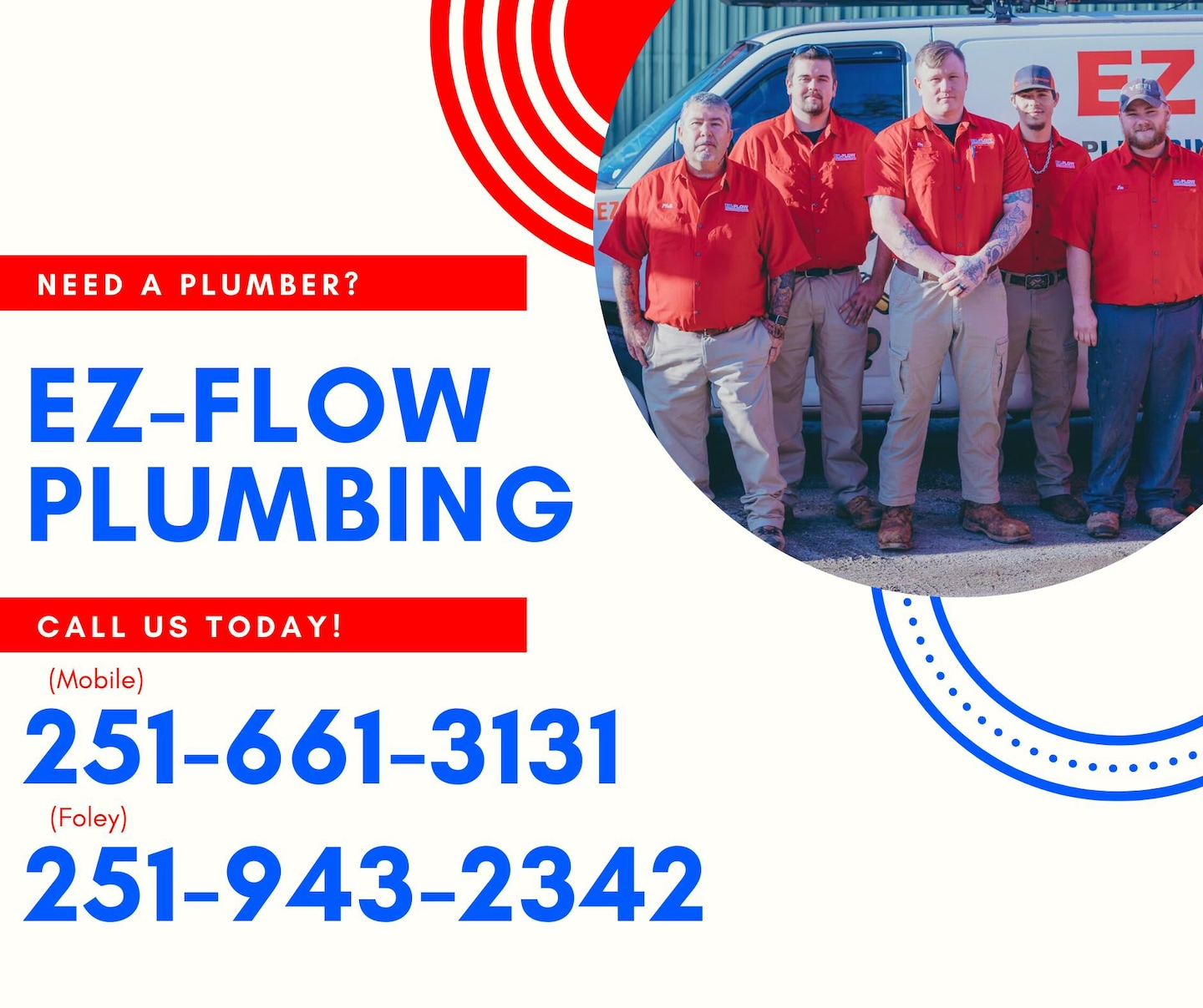 EZ-Flow Plumbing & Drain A Div. of Rowe Plumbing and Irrigation LLC logo
