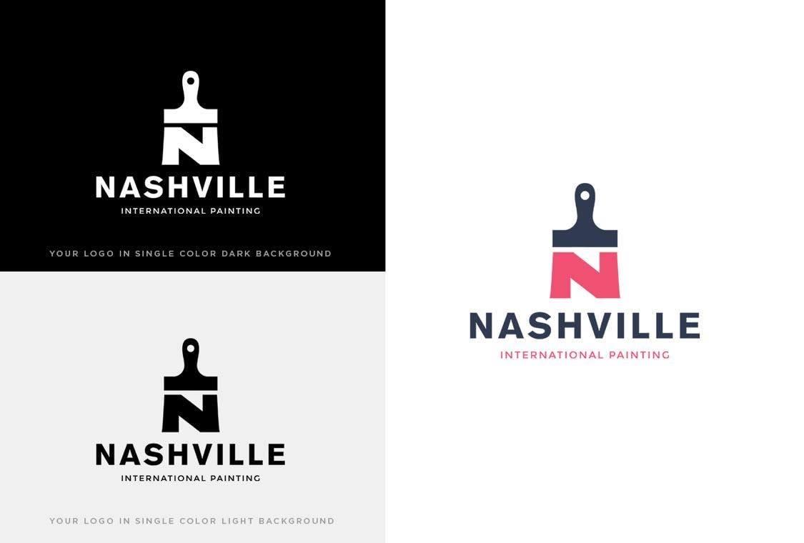 Nashville International painting