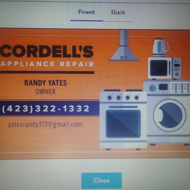 Cordell's Appliance Repair
