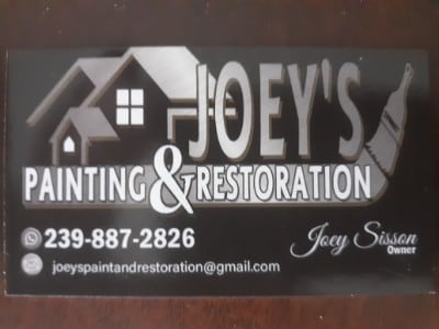 Joey's painting & restoration
