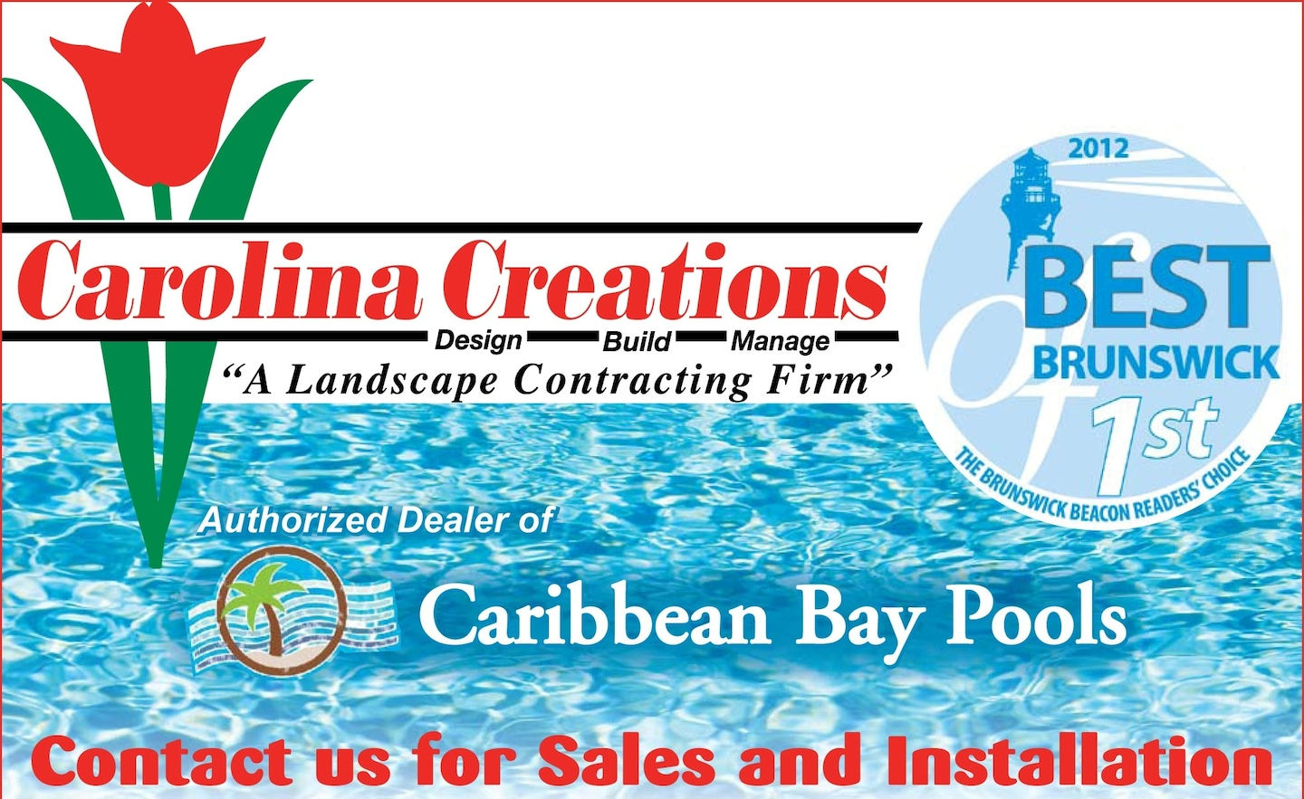 Carolina Creations Pools & Landscapes Inc logo