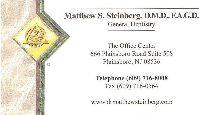 Steinberg Dr Matthew S