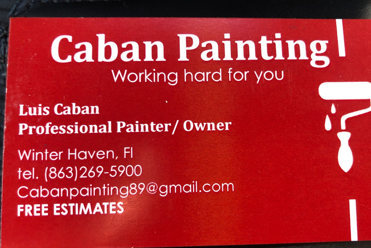 Caban painting