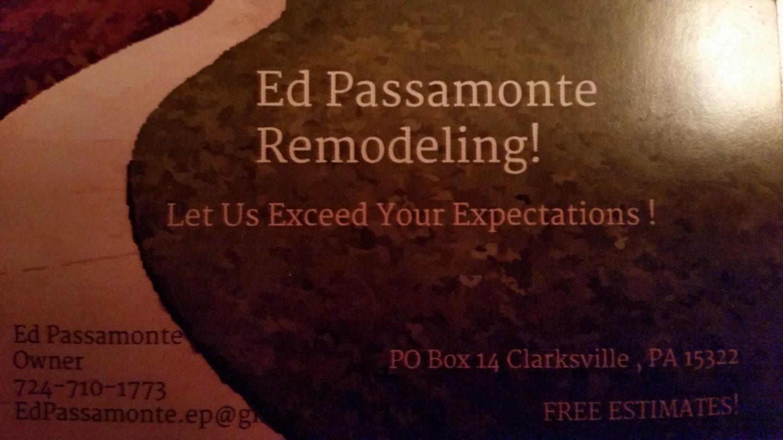 Ed Passamonte Remodeling