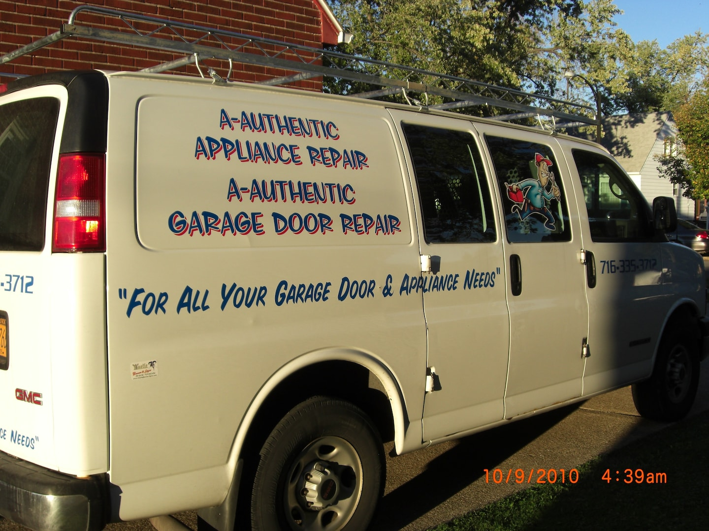A-Authentic Garage Door And Appliance Repair