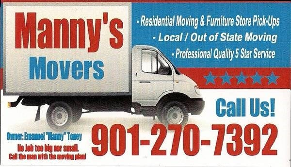 Mannys Movers