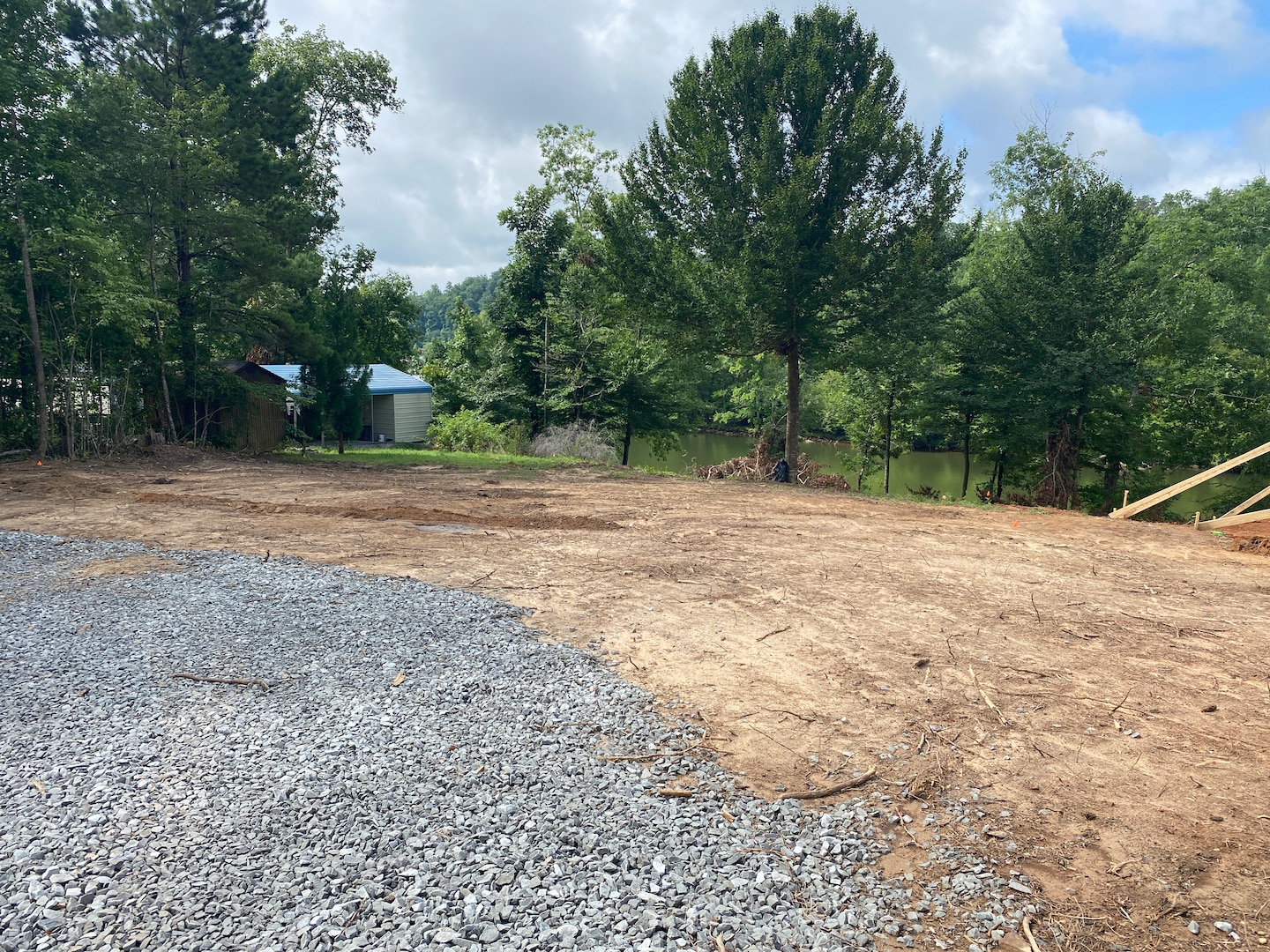 House foundation and concrete footers