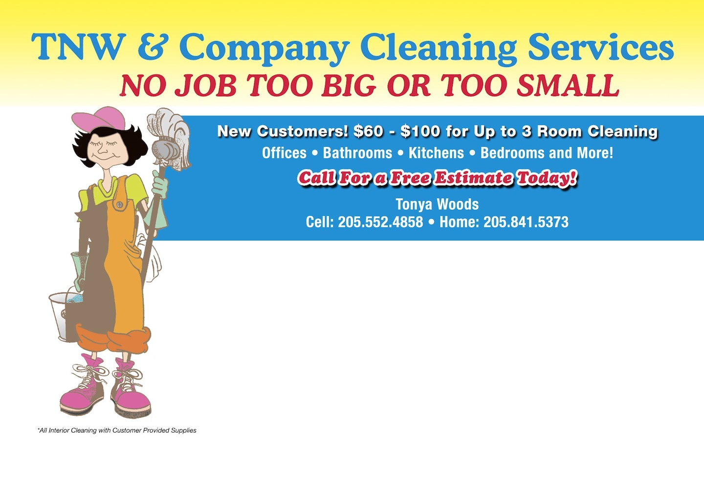 T.N.W. & Company Cleaning Service
