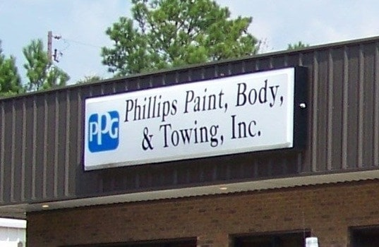 Phillips Paint, Body & Towing, Inc