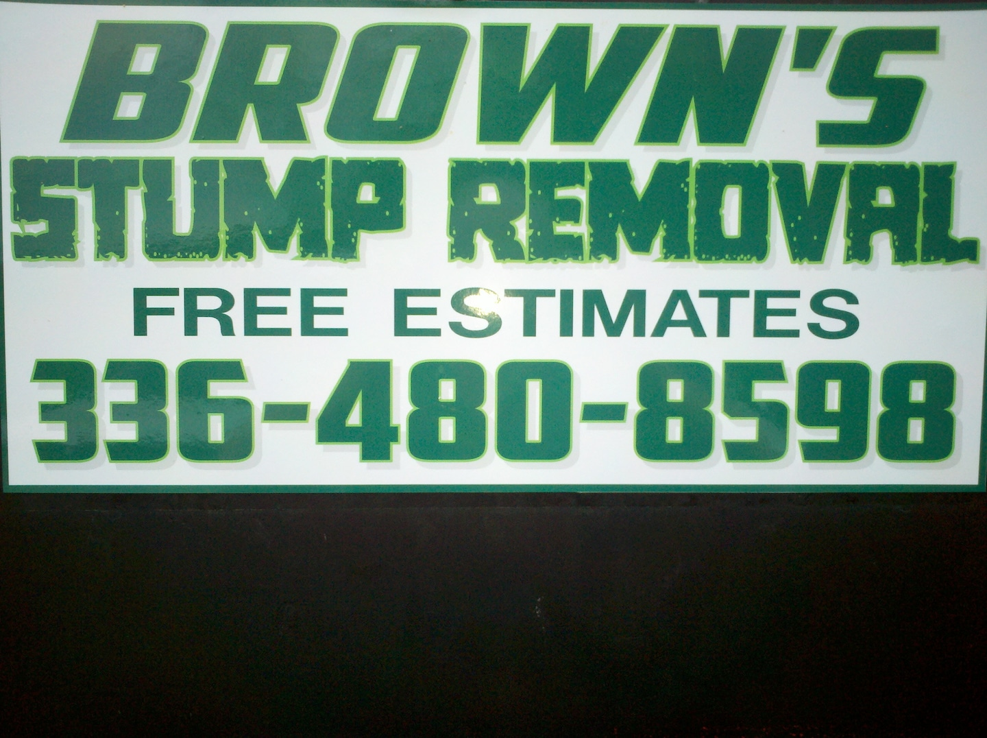 Brown's Stump Removal