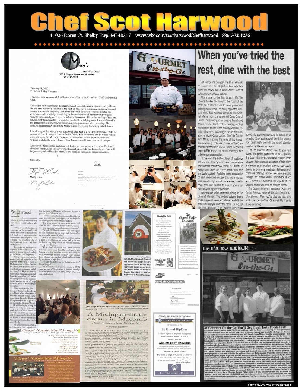 Metro Private Chefs.com