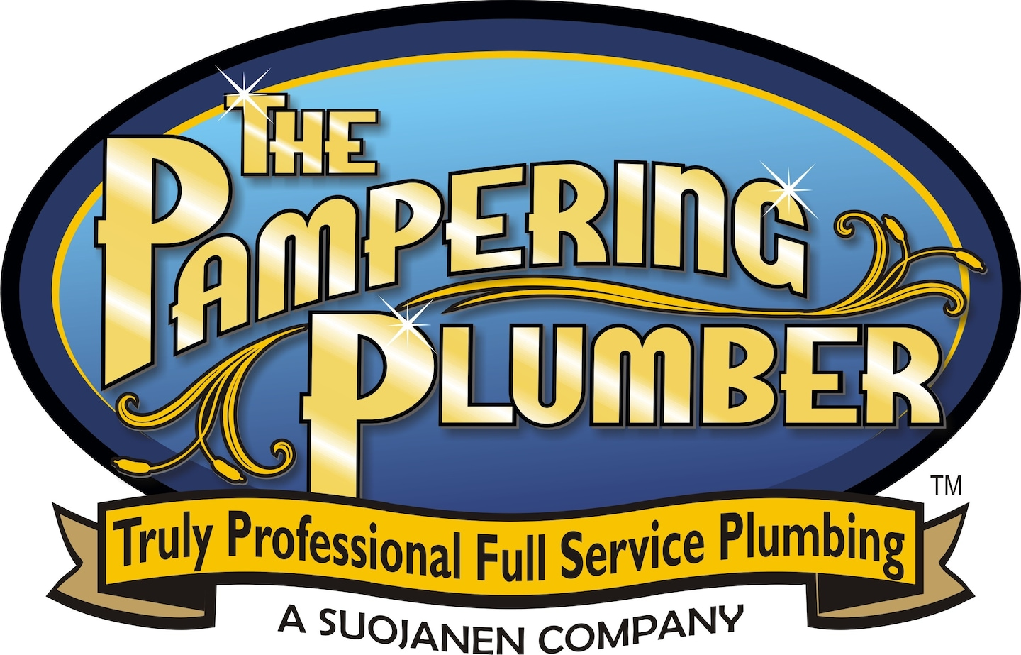 The Pampering Plumber logo