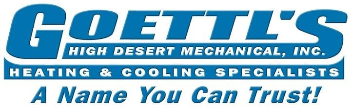 Goettl's High Desert Mechanical logo