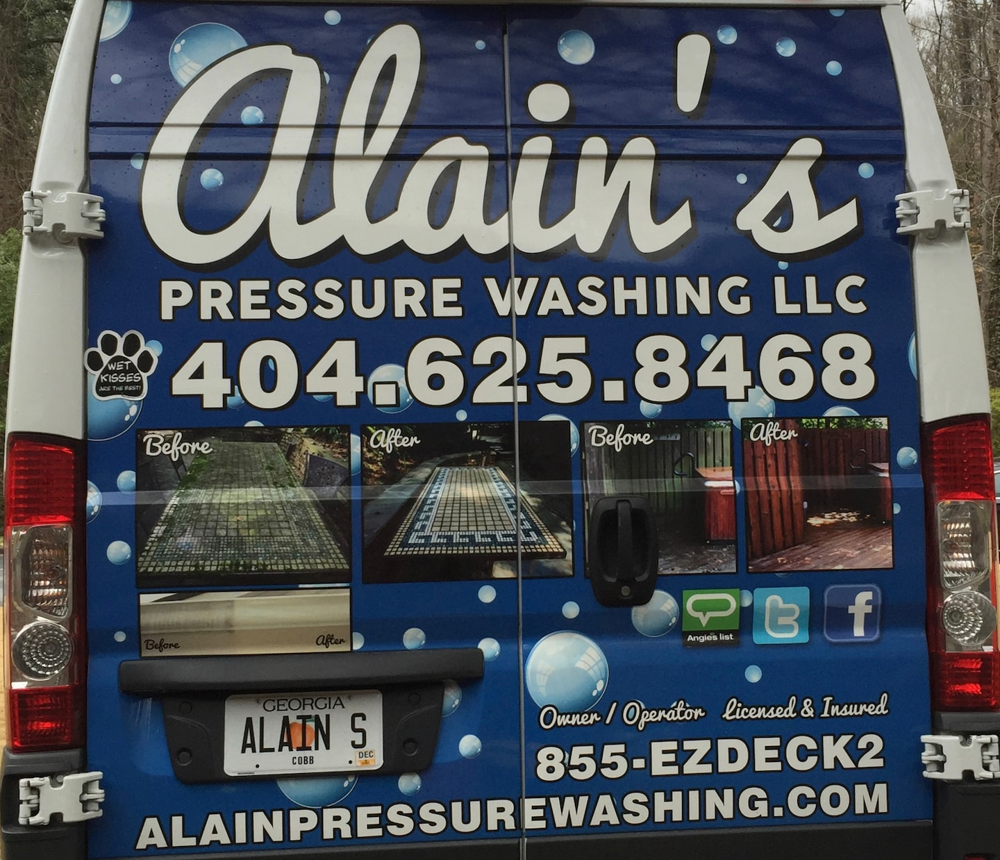 Alain Pressure Washing