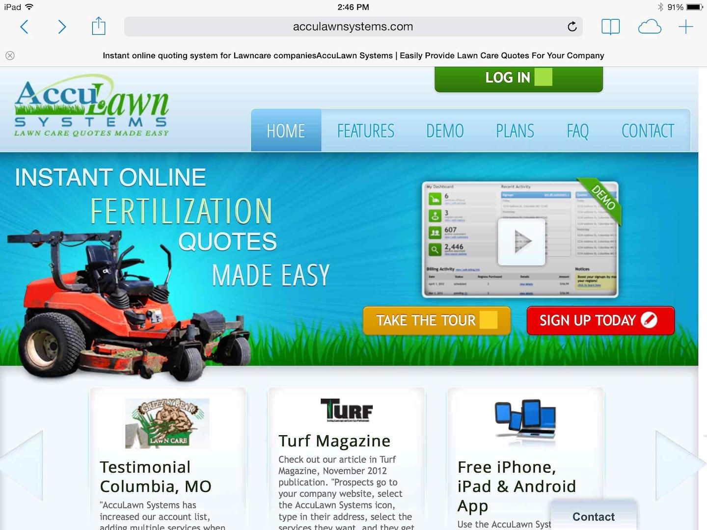 AccuLawnCare.com