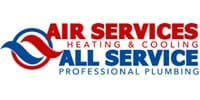 Air Services  All Service Plumbing Heating Cooling